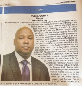 Frank Walker Law New Pittsburgh Courier